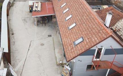 Priemyselno komerčný areál, slúžiaci ako stavebniny, Turany