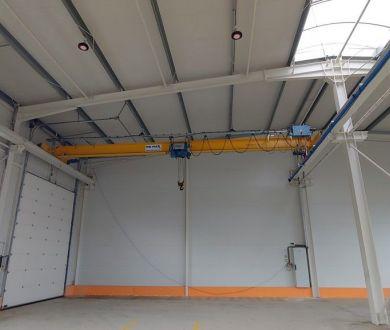 Ponúkame na prenájom výrobné a skladové priestory v nadštandardnej hale v areály bývalých Považských strojární.