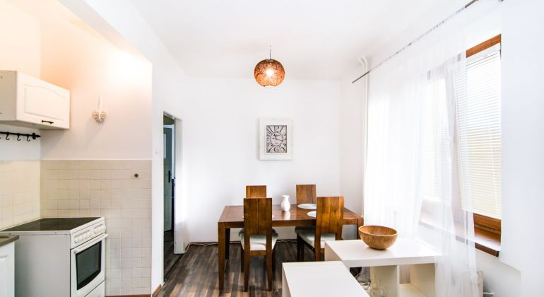 Krásny 3 izbový mezonet so záhradou a veľkou pivnicou Bratislava - Nové Mesto na Tylovej ulici