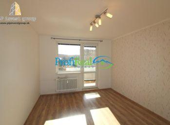 Na predaj 3-izbový byt s balkónom v Poprade