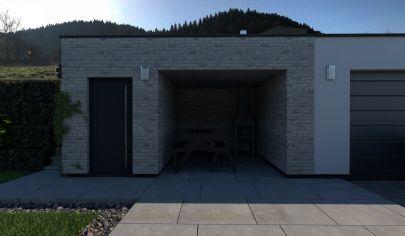 Sklabiňa Novostavba 4 izbového rodinného domu holodom ,pozemok 1490m2 okr. Martin