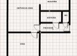 2 izbový byt, Vlčie hrdlo (NIE UBYTOVŇA)