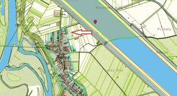 GREGORY Real, na predaj 4 stavebné pozemky pre rodinné domy (1.530 m), obec Bodíky, okr. Dunajská Streda  - DOHODA