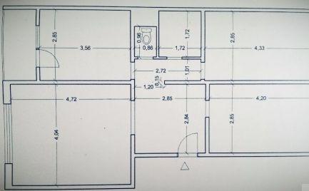 Byt 3 izbový, typ VNKS s lodžiou, 70 m2, B. Bystrica, po čiastočnej rekonštrukcii -  cena 83 000€