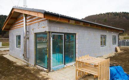 Nízkoenergetický dom v lokalite Svederník - Lipová alej
