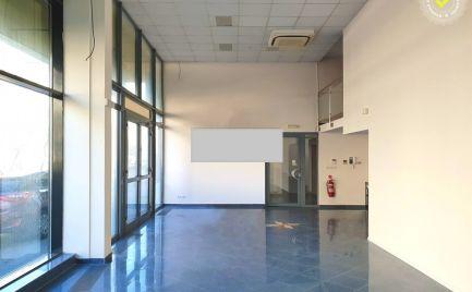 Prenájom 2 x obchodné priestory s výmerami 141 m2, v novostavbe, v polyfunkčnej budove, Bratislava III., Račianska ulica