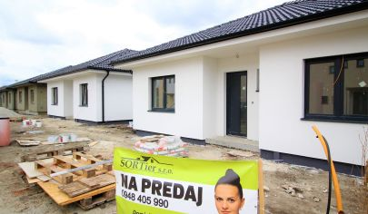 TOP !! SORTier s.r.o.  5 izbový bungalov v MALACKÁCH