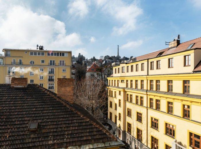 KRIŽKOVA, 4-i byt, 117 m2 – NADŠTANDARDNÉ dizajnové bývanie s TERASOU a výhľadom na Slavín