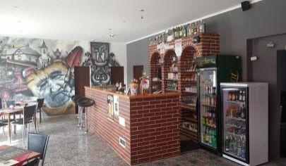 MALÉ RIPŇANY - reštaurácia s terasou, okr. Topoľčany