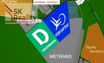 Pozemky -  priemyselný park - strategická poloha