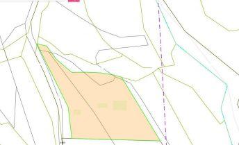 Rekreačný pozemok - BORČICE, 3 eurá/m2