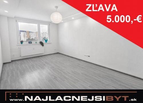 Najlacnejsibyt.sk: BAIV - Dúbravka, Bílikova ul., 3-izbový, 74 m2, kompletná rekonštrukcia 2019 NOVÁ CENA