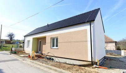 Exkluzívne APEX reality 4iz. novostavba RD bungalow v Hornom Trhovišti, všetky IS, pozemok 500 m2
