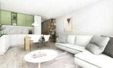 PREDAJ - 3i byt na Sihoti vo výstavbe - projekt Capitis - byt 7.H