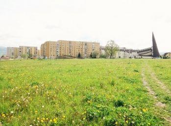 Investičný pozemok pre výstavbu bytových domov  9.482 m2 v Bardejove sídlisko Vinbarg II