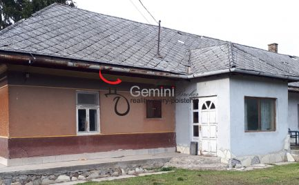 GEMINIBROKER Vám ponúka na predaj čiastočne zrekonštruovaný dom v obci Alsóregmec