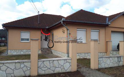 GEMININBROKER Vám ponúka na predaj rodinnú vilu v obci Pálháza
