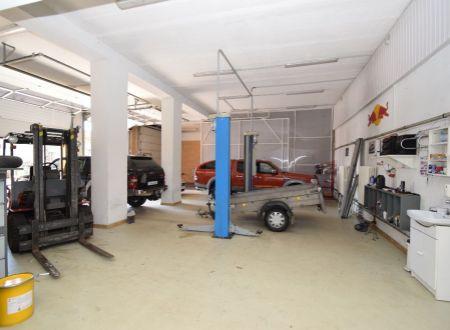 Prevádzkový výrobný objekt, 1081 m2, všetky IS a povolenia, Piešťany