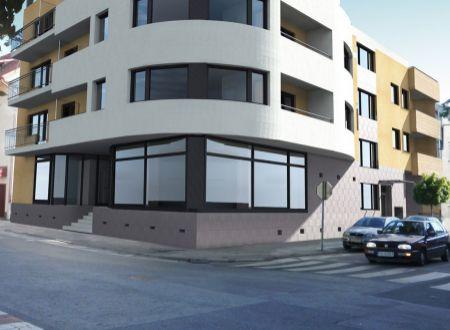 AKCIA ! Nový 3 izbový byt B3 /93,59 m2 s dvomi terasami/ centrum Piešťany