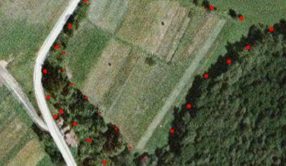 NECPALY rekreačný pozemok 14 283m2, okr. Martin