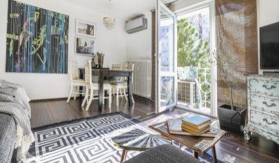 Exkluzívne Vám ponúkame na predaj moderný 2 izbový byt so samostatnou kuchyňou, balkónom, pivnicou a garážou vo vyhľadávanej časti Starého mesta o výmere 52,06 m na Šoltésovej ulici.