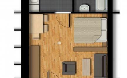 Jedinečná ponuka 1 izbového bytu v novostavbe