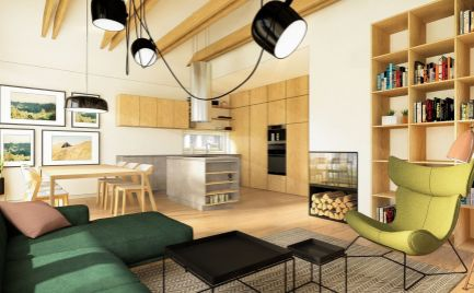 Samostatne stojací 4 izbový rodinný dom
