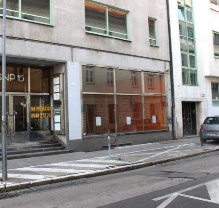 StarBrokers – PRENÁJOM: obchodný priestor 79 m2 v centre - Námestie SNP Bratislava Staré Mesto