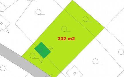 ZĽAVA - Záhradná chatka  s pozemkom 332 m2, s elektrikou a vodou v Banskej Bystrici – cena 13 500€
