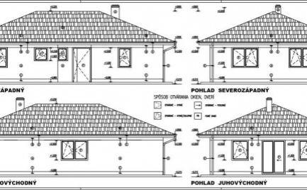 Nová lokalita - obec Mikušovce - 17 rodinných domov