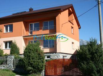 Na predaj luxusný apartmánový dom / viacgeneračný rodinný dom v podtatranskej obci Štrba