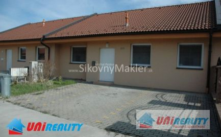 PREDANÉ !!! DEŽERICE- Vlčkovo / novostavba nízko energetického domu / IBA U NÁS