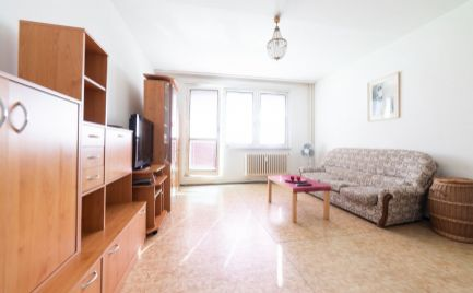 Ponúkame na predaj priestranný 2 izbový byt s výhľadom na Bratislavský hrad na Pribišovej ulici
