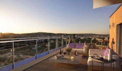 Exkluzívny penthouse na najvyššom 23.poschodí s vyše 100m2 veľkou terasou v projekte City Park