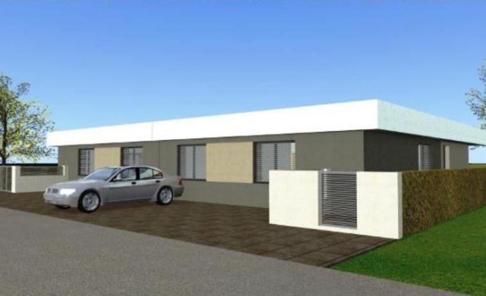 Stavebný pozemok 1030 m2 s právoplatným stavebným povolením na výstavbu rodinného dvoj domu v obci Most pri Bratislave