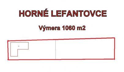 HORNÉ LEFANTOVCE- 3- izbový rodiný dom, okres Nitra
