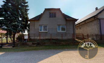 Na predaj rodinný dom v tichej lokalite obce Zemplínsky Branč