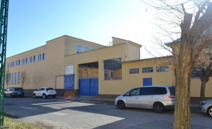 Na predaj:  Výrobno prevádzkový areál bývalej mliekárne, Hlohovec