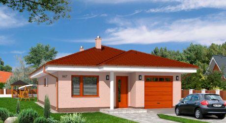 Predaj novostavba RD,bungalov v tichej lokalite v NZ projekt Euroline 867.