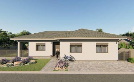 VO VÝSTAVBE – komfortný 4 izb rodinný dom v privátnej uličke v obci Michal na Ostrove