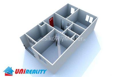 PRENÁJOM / BÁNOVCE NAD BEBRAVOU- zariadený 3 izbový byt /sídlisko DUBNIČKA / čiastočná rekonštrukcia