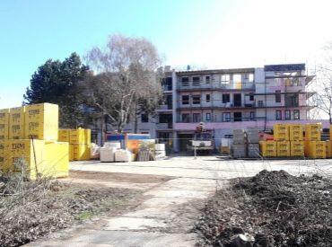 REZERVOVANÉ  - 2-izbový byt č. 102 s terasou, bytové apartmány SĹŇAVA - BANKA - PIEŠŤANY
