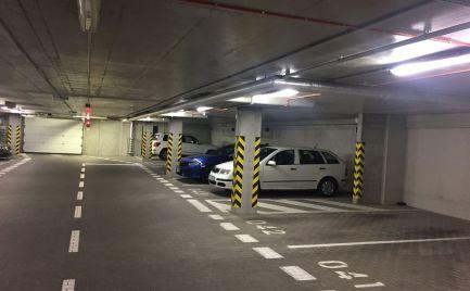 PRENÁJOM parkovacie miesto v garáži NOVOSTAVBA Bratislava Ružinov Jegého Alej EXPIS REAL