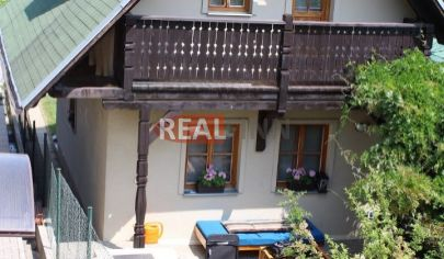 REALFINN  - PODHÁJSKA   - Chata neďaleko /300 m / od kúpaliska na predaj