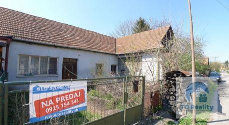 Na predaj 2 izbový dom v obci Ješkova Ves