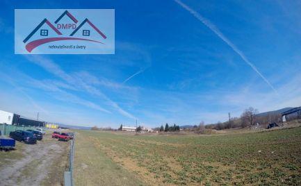 DMPD real ponúka na predaj rovinaté pozemky v priemyselnej zóne