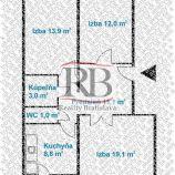 Na predaj 3 izbový byt na Eisnerovej ulici v Devínskej Novej Vsi