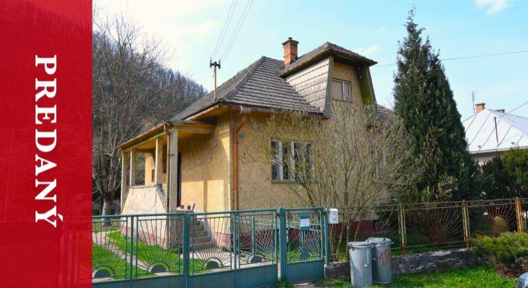 REZERVOVANÝ: Rodinný dom - Porúbka, okres Žilina