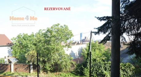 Home4me – PREDAJ – pozemok v Bratislave, BA III– Nové mesto, Matúškova ulica