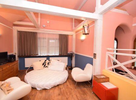 Rodinný dom, 2 izby s wellnessom, pozemok 596 m2, Sokolovce